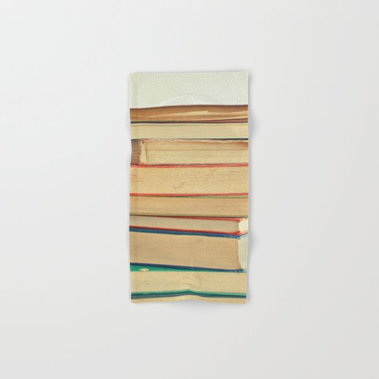 Stack of Books Hand & Bath Towel