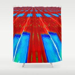 Horizon Field Shower Curtain