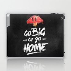 Go Big or Go Home Mario Inspired Smash Art Laptop & iPad Skin
