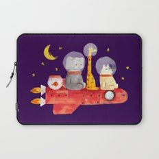 Let's All Go To Mars Laptop Sleeve