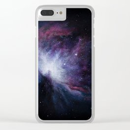 Orion Nebula Clear iPhone Case
