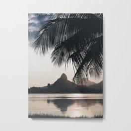 Lagoa in Rio de Janeiro, Brazil Metal Print