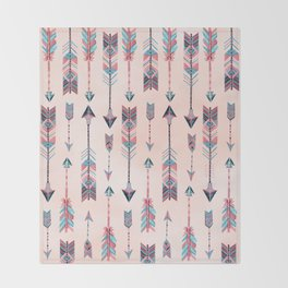Patterned Arrows Throw Blanket