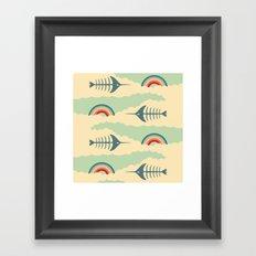 bittersweet pattern Framed Art Print