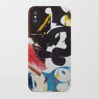 nirvana iPhone & iPod Cases featuring NIRVANA/FELIX by Brandon Neher
