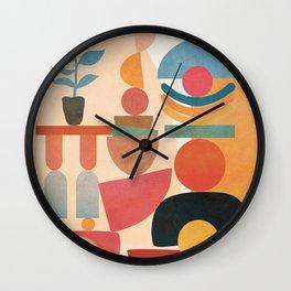 Modern Abstract Art 73 Wall Clock
