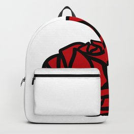 DextroseArts Signature Rose Logo Backpack