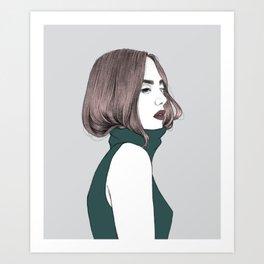 Basic instinct Art Print