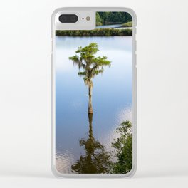 Solitary #Tallahassee Clear iPhone Case