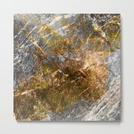 Glamorous Marble Metal Print