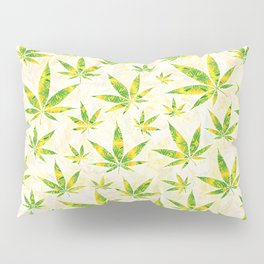 Weed OG Kush Pattern Pillow Sham