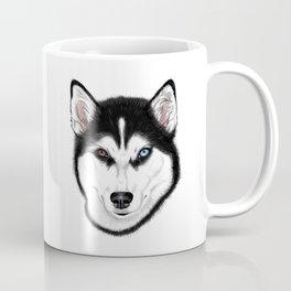 Husky different eyes Coffee Mug