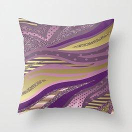 Royal Glam Throw Pillow
