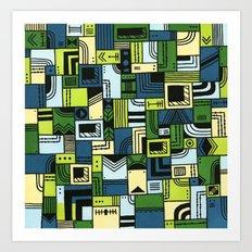 Saturdaze Art Print