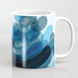 Sea Glass Stone Stack Abstract Coffee Mug