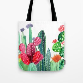 A Prickly Bunch 4 Tote Bag
