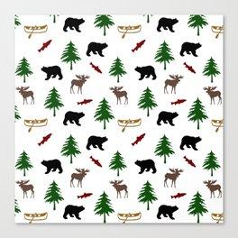 Moose Bear Canvas Print