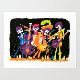 The Lonely Dead Hearts Art Print
