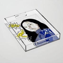 Frankie Adams Acrylic Tray