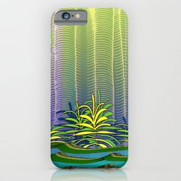 Tropical Yellow Jungle iPhone Case