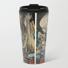 Takiyasha the Witch and the Skeleton Spectre Metal Travel Mug