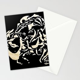 Lions Head of Gold Stationery Cards