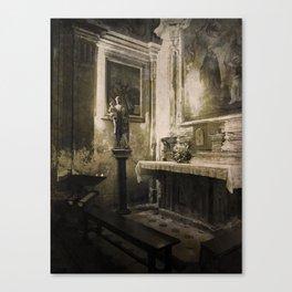 the votive Canvas Print