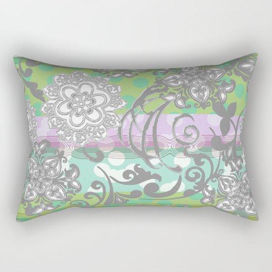 Fun with Dots and Jane Rectangular Pillow