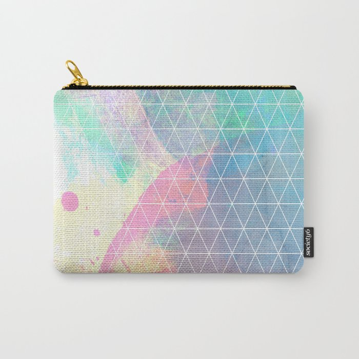 Geometric Shadows Carry-All Pouch