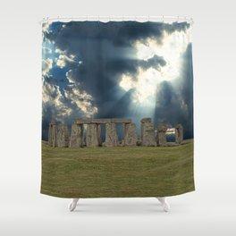 Stonehenge IV Shower Curtain