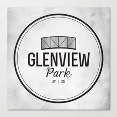 Glenview Park Canvas Print