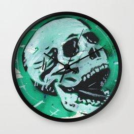 Gunga Skull 07 Wall Clock