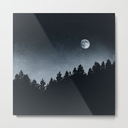 Under Moonlight Metal Print