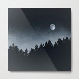 Under Moonlight Metal Print