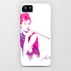 Audrey Stencil Slim Case iPhone (5, 5s)