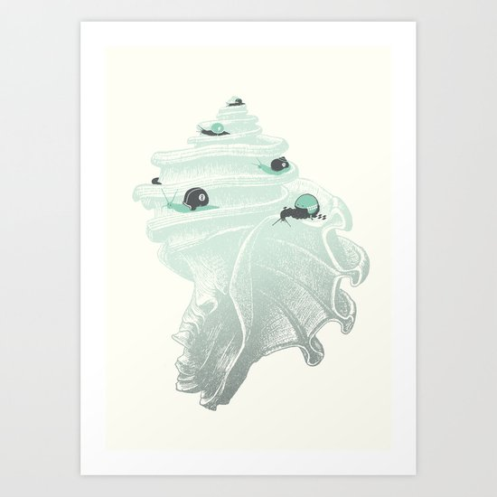 Race for the Prize Art Print