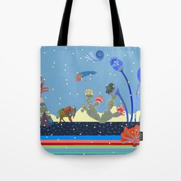 At night Tote Bag