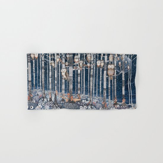 Winter forest Hand & Bath Towel