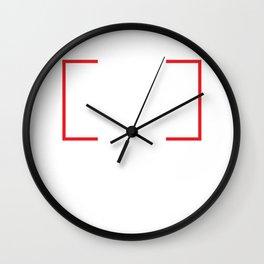 Puck Make America Skate Again Hockey Political T-Shirt Wall Clock