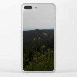 Peak of Nature Clear iPhone Case