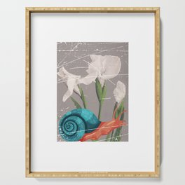 Photo Art Snail Serving Tray