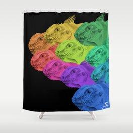 Iguanarama Shower Curtain