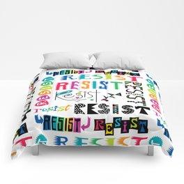 Resist them 3 Comforters