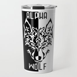 Alpha Wolf Travel Mug