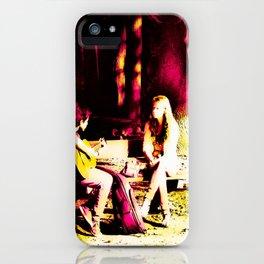 Just Friends iPhone Case