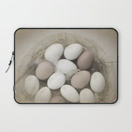 Sketch of eggs in a nest Laptop Sleeve
