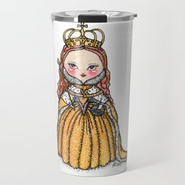 Queen Elizabeth I of England Coronation Travel Mug