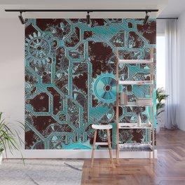 Steampunk,gears Wall Mural