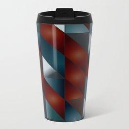 Pattern #5 Tiles Metal Travel Mug