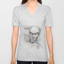 And the whole world shall see Unisex V-Neck